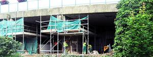 Concrete bridge repair